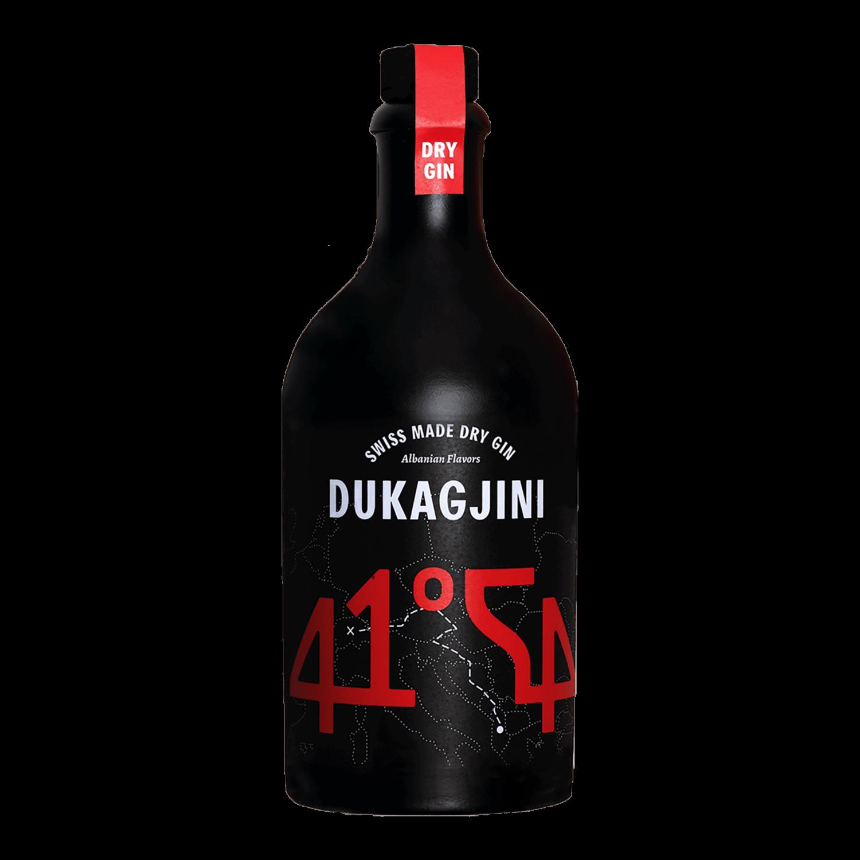 DUKAGJINI - Albanian dry gin made in Switzerland