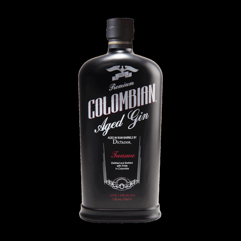 "Dictador Colombian Aged Black Gin ""Treasure"""