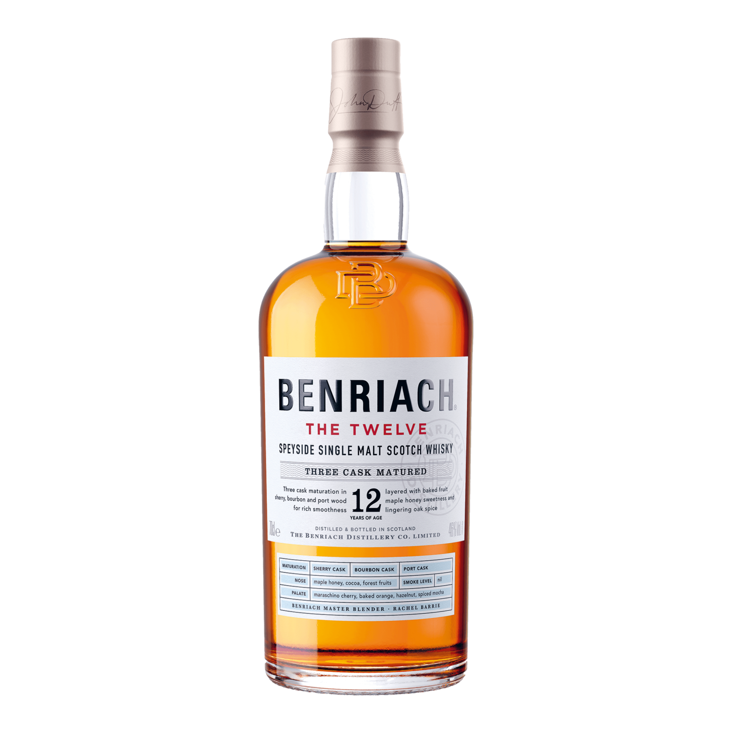 The BenRiach the twelve - 70cl