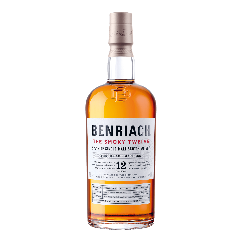 The BenRiach the smoky twelve - 70cl