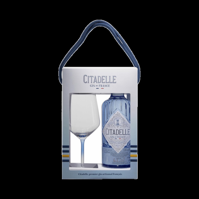 Citadelle Gin de France 0.7l mit 1 Glas
