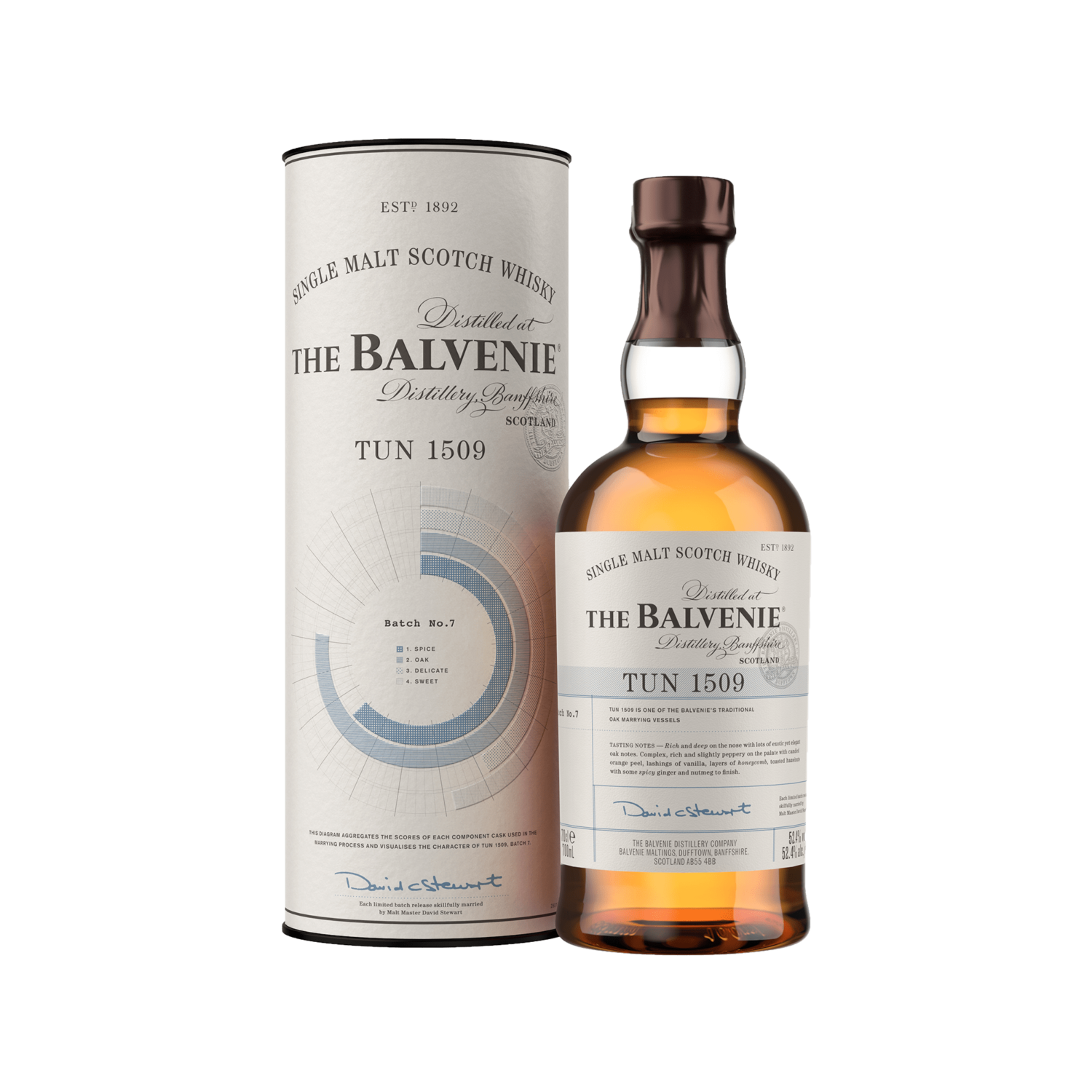 The Balvenie TUN 1509 Batch No. 7 - 70cl