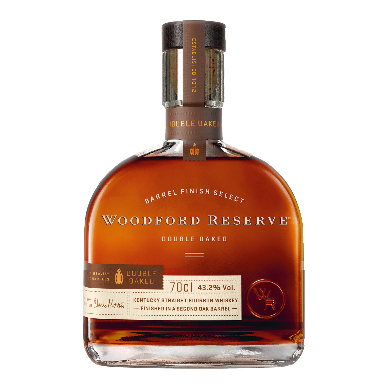 Woodford Reserve double oaked - 70cl
